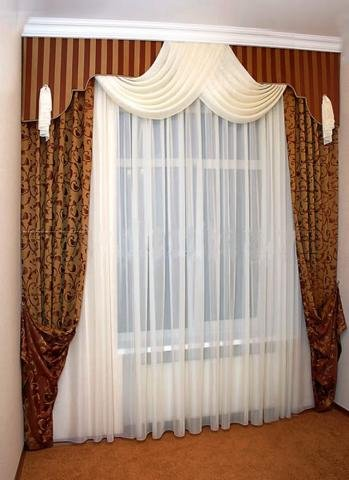 Тюль шторы дизайн