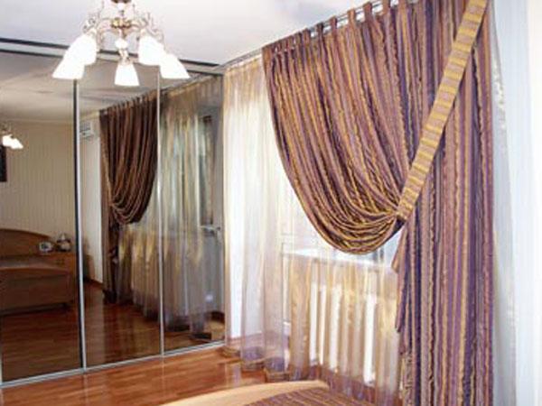 Образцы штор для спальни фото